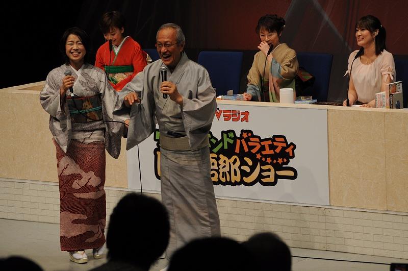 晤�カショー 石川晴恵さんと。